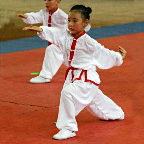 Clases semanales de kung fu para niños en las rozas